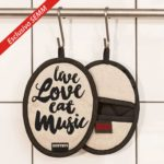 We Love Rock Design - Esclusiva per Semm Philosophy - presinaLive Love Eat Music