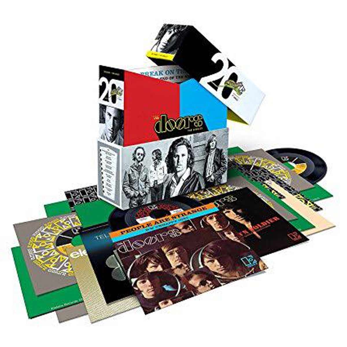 The DoorsThe Singles BOX SET   SEMM Music Store & More