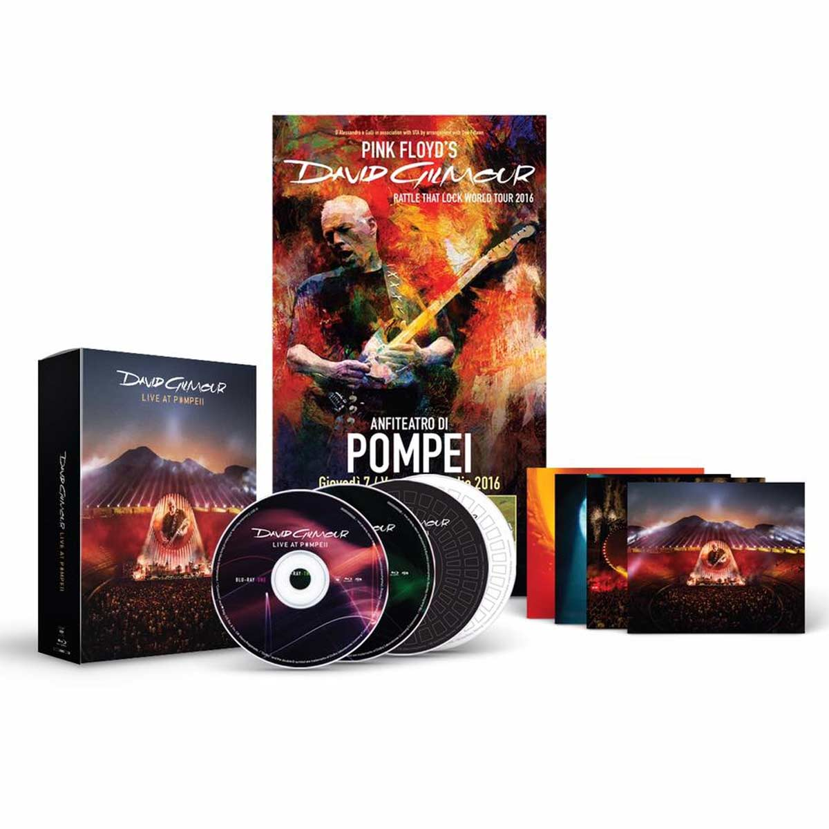 david gilmour live at pompeii box set semm music store more. Black Bedroom Furniture Sets. Home Design Ideas