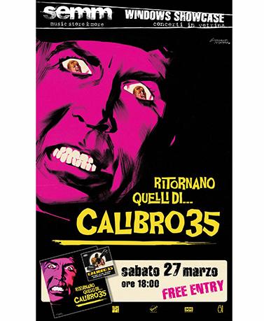 semm store evento instore Calibro 35 Bologna