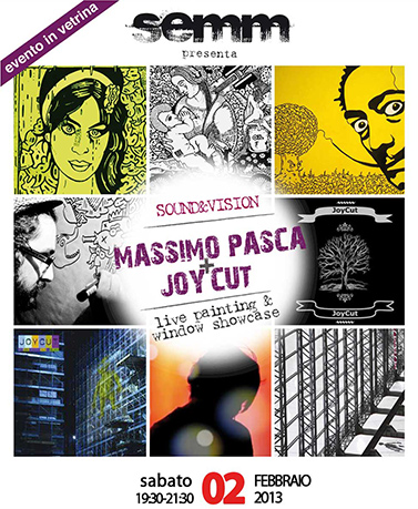 semm store evento instore Massimo Pasca Joy Cut Bologna