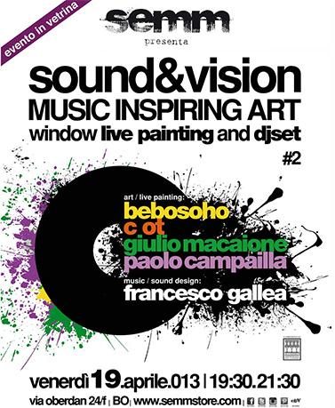 semm store evento sound vision Bologna