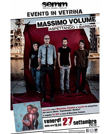 semm store evento instore Massimo Volume Bologna