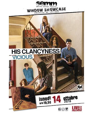 semm store evento instore His Clancyness Bologna