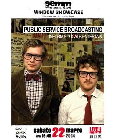 semm store evento instore Public Service Broadcasting Bologna