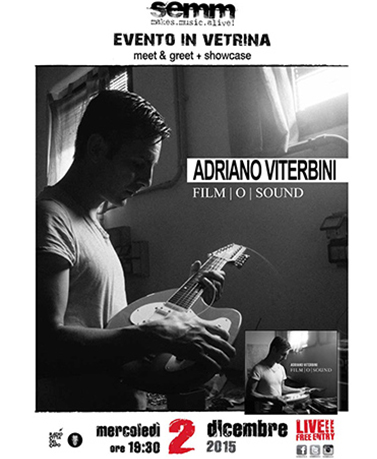 semm store evento instore Adriano Viterbini Bologna