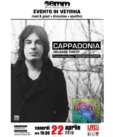 semm store evento instore Cappadonia Bologna
