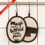 We Love Rock Design - Esclusiva per Semm Philosophy - presina Music Makes the World A better Place