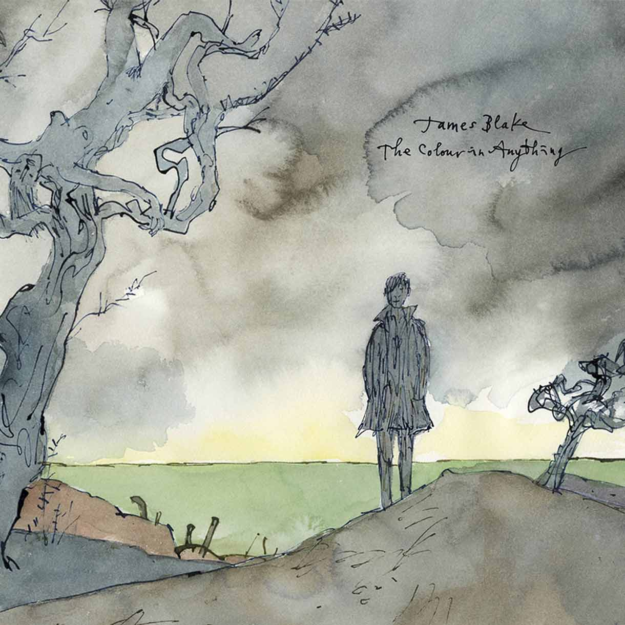 """JAMES BLAKE """"The Colour In Anything"""""""