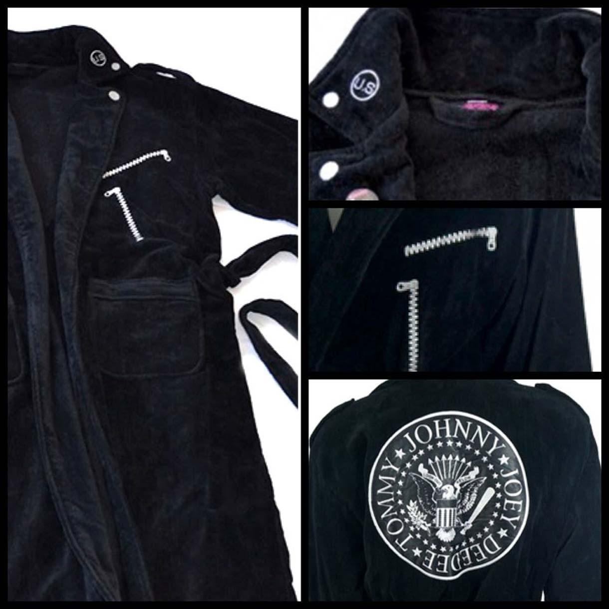 Ramones-apparel- accappatoio-vestaglia - semmstore.com-semm-semmmusic-record-store-music-store-semmstore