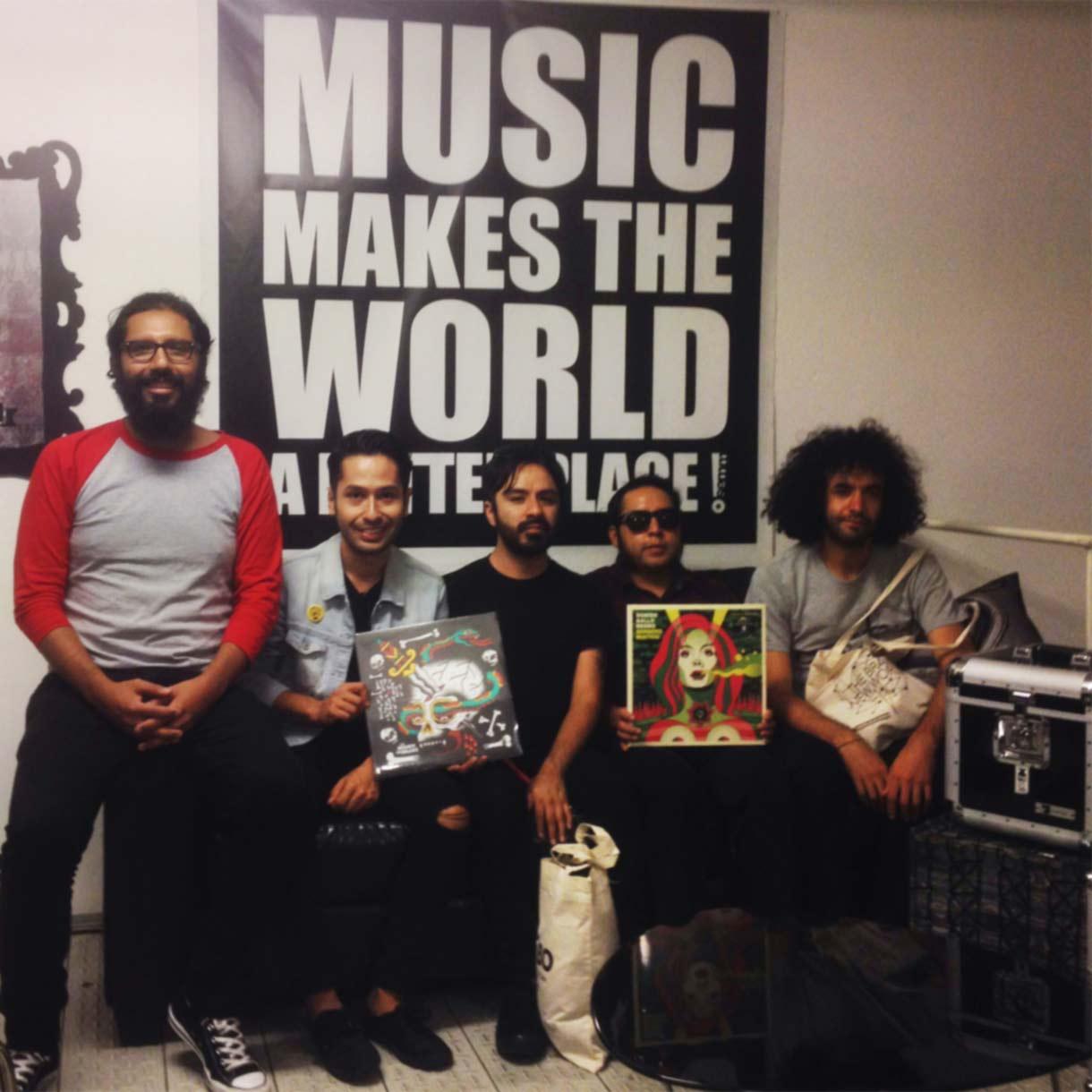 Semm Music Store Special Guest Sonido Gallo Negro