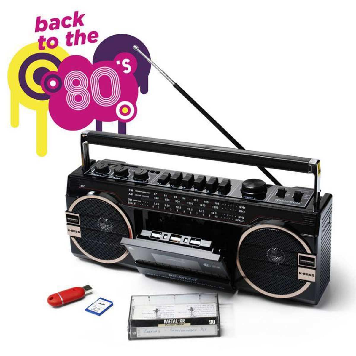 Ghettoblaster Stereo Portatile