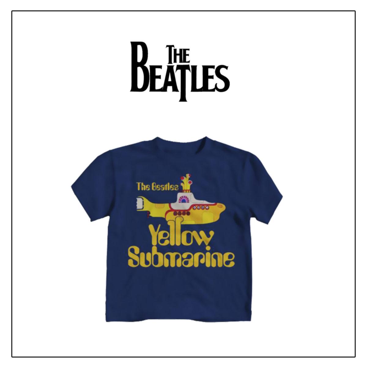 BEATLES,T-shirt Bambino 2-5 anni