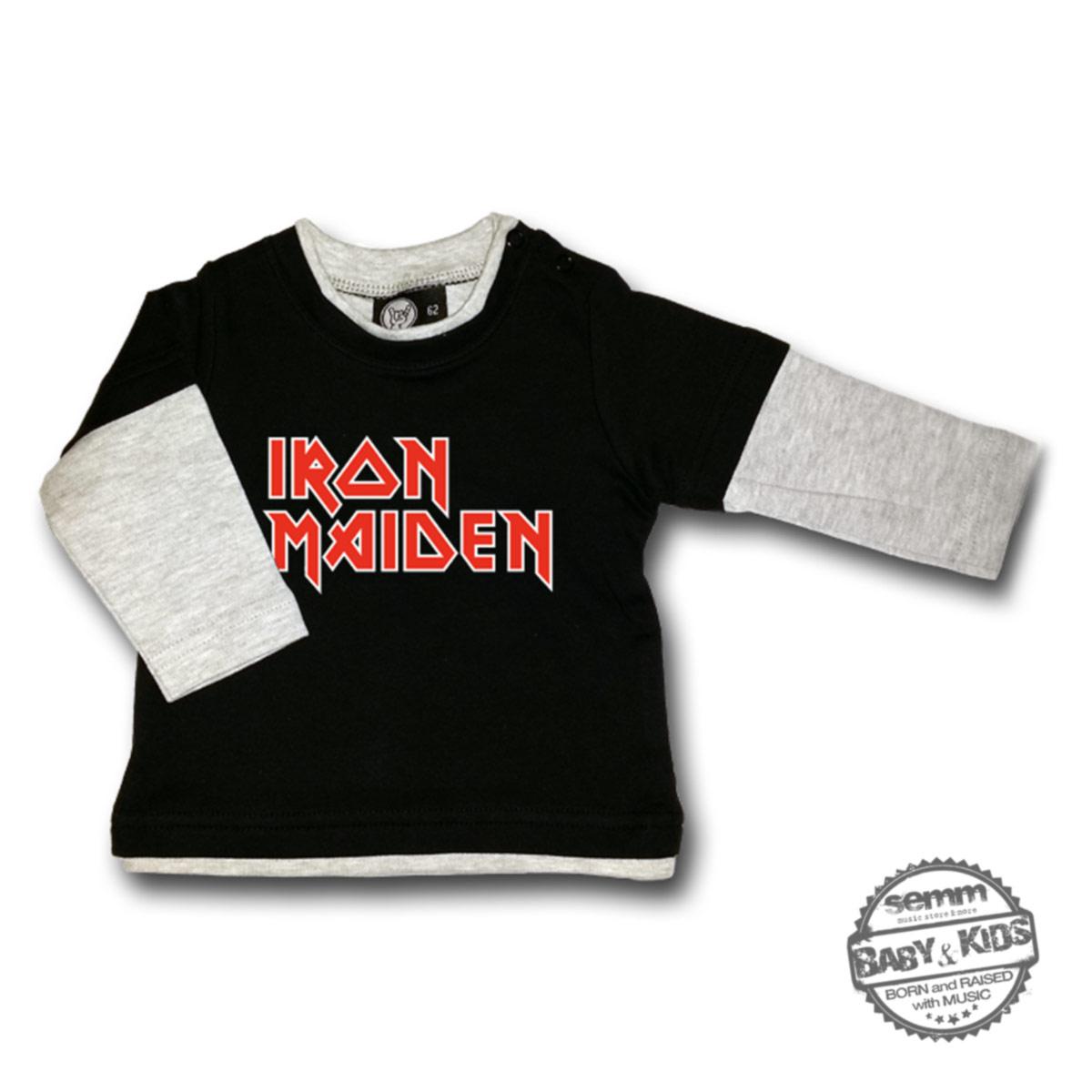 IRON MAIDEN, T-shirt 0-24mesi