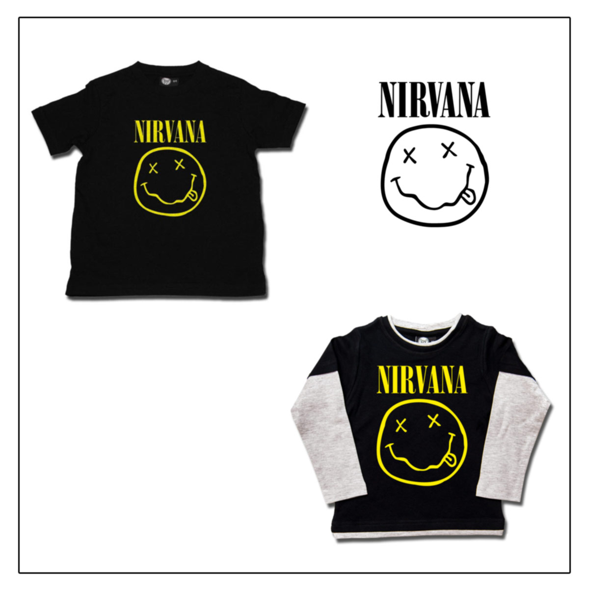 NIRVANA T-shirt Bambino 2-12 anni