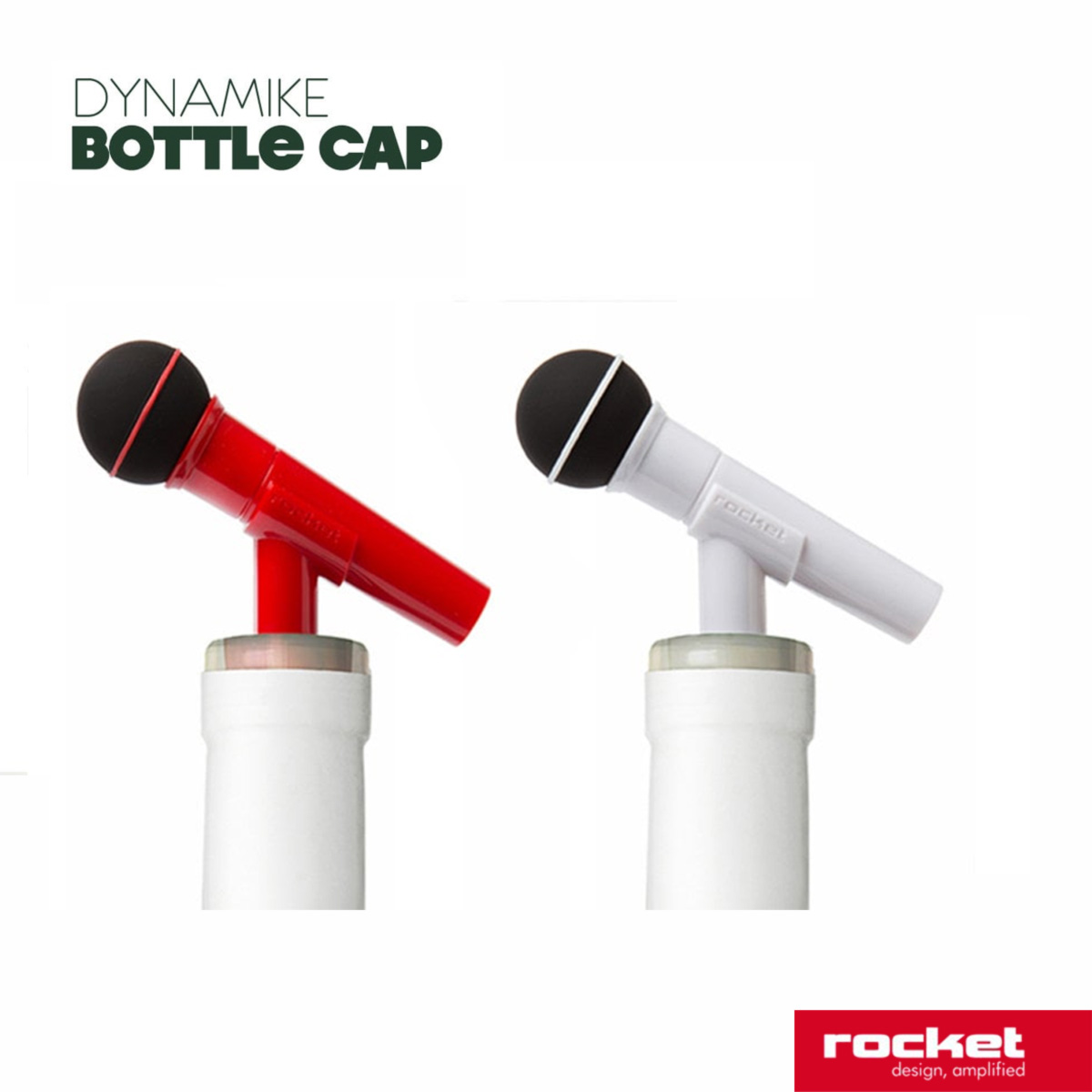 Rocket Design- Apribottiglia Microfono