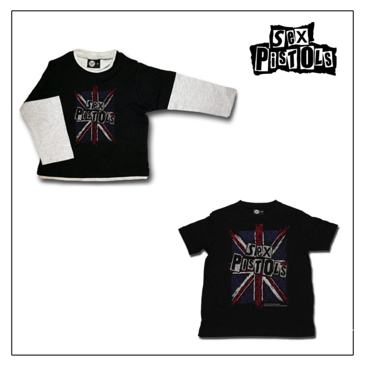 SEX PISTOLS, T-shirt Bambino 2-10 anni