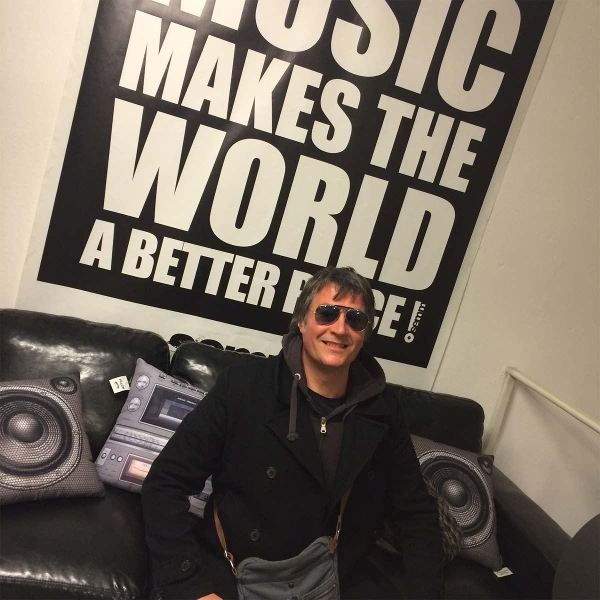 Semm Music Store Special Guest Daniele Bengi Benati