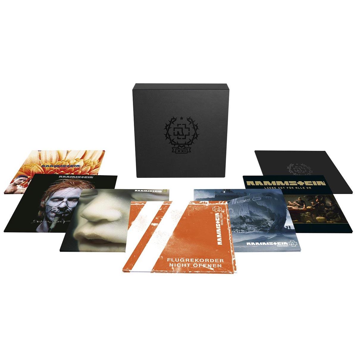 RAMMSTEIN - XXI The Vinyl Box Set