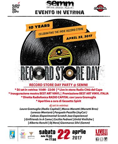 semm store evento record store 2017 Bologna