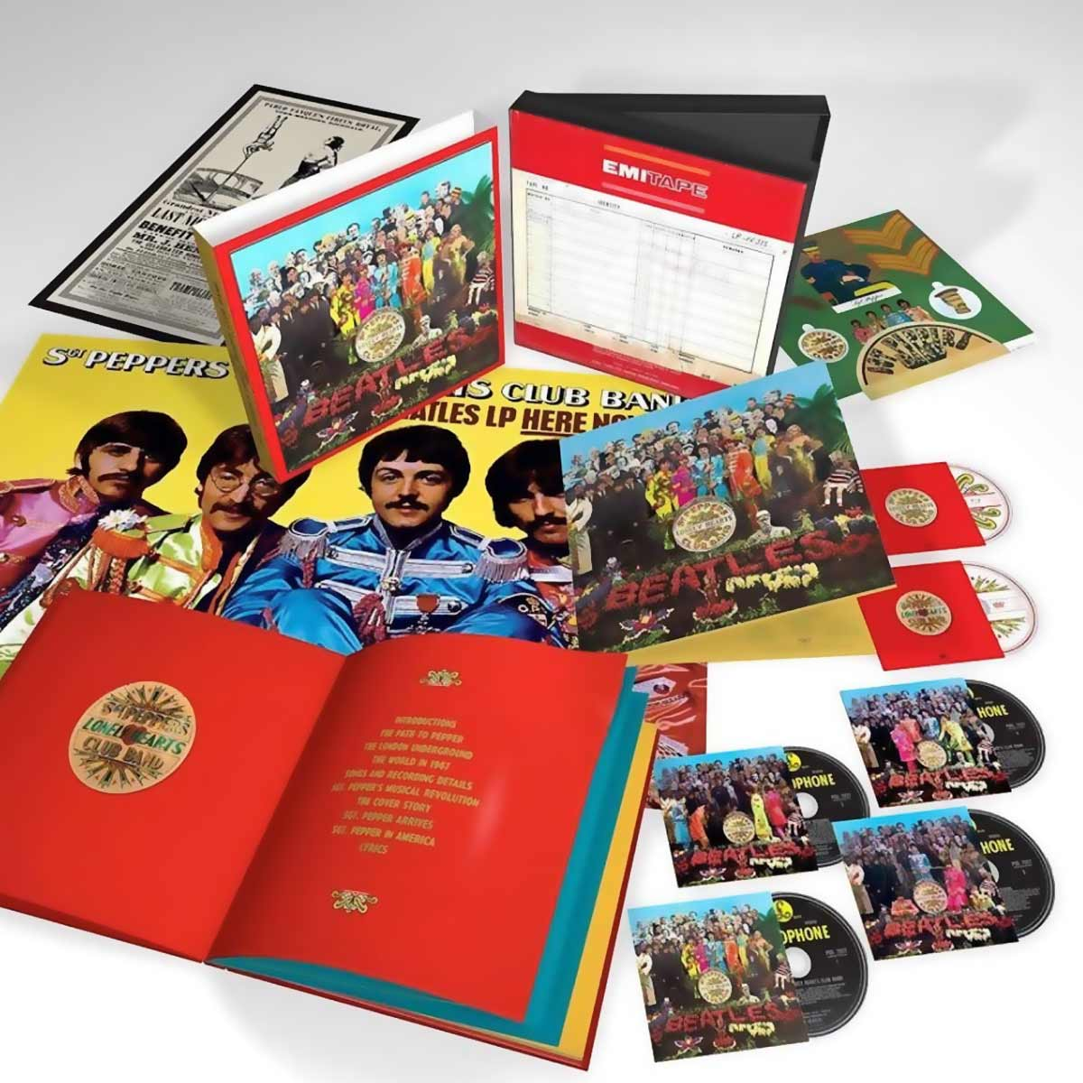 The BEATLES |Sgt Pepper Lonely Hearts Club Band | SEMM Music Store ...
