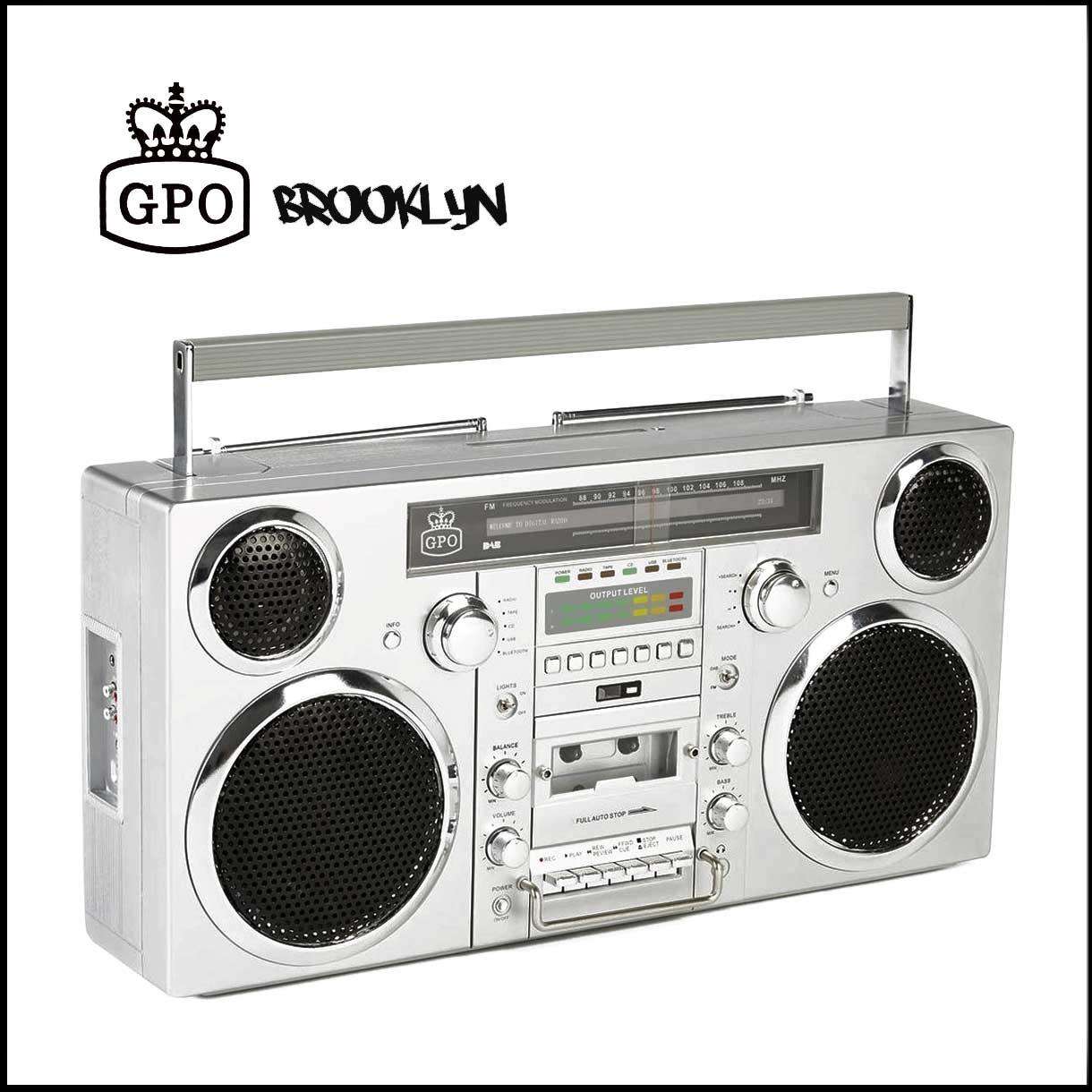 GPO Brooklyn Ghetto Blaster Boombox