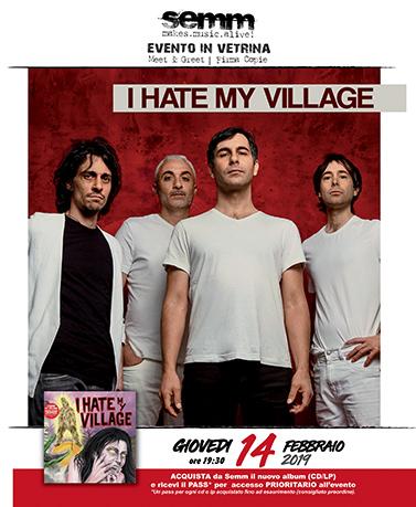 semm store evento instore I Hate My Village Bologna