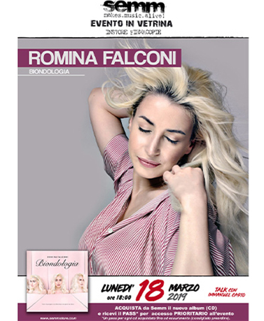 semm store evento instore Romina Falconi Bologna