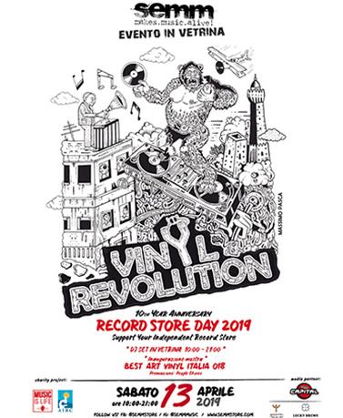 semm store evento record store 2019 Bologna