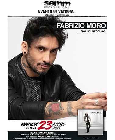 semm store evento instore Fabrizio Moro Bologna