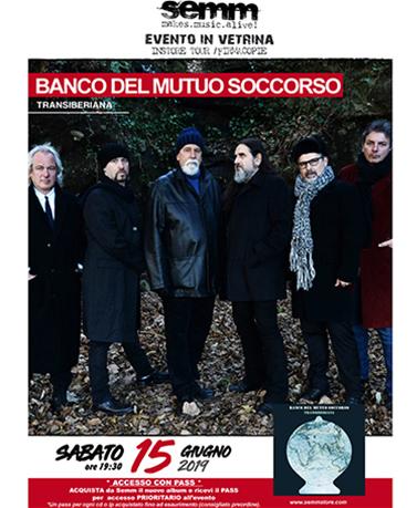 semm store evento instore Banco Del Mutuo Soccorso Bologna