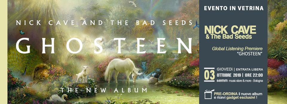 Nick Cave & the Bad Seeds - Global Album Premiere 03.10.19 @ Semm