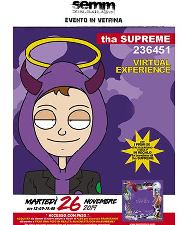 semm store evento instore Tha Supreme Bologna