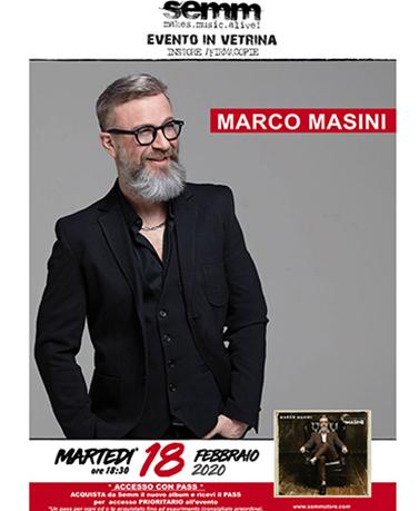 semm store evento instore Marco Masini Bologna