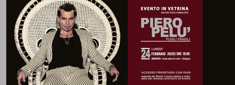 """Piero Pelu - Firmacopie album """"Pugili Fragili"""" - Semm music store"""