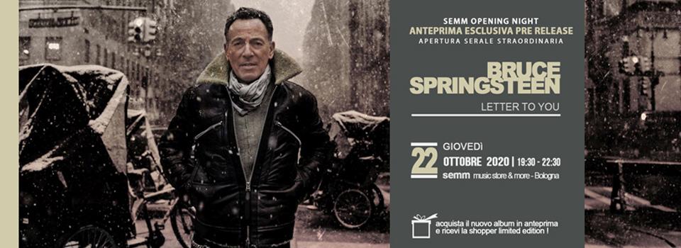 Bruce Springsteen - Letter To You - anteprima esclusiva