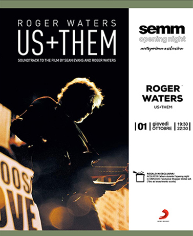Semm Music Store Evento OpenNight Roger Waters