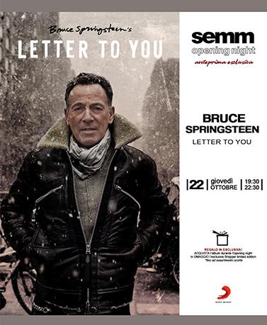 semm store evento open night Bruce Springsteen Bologna