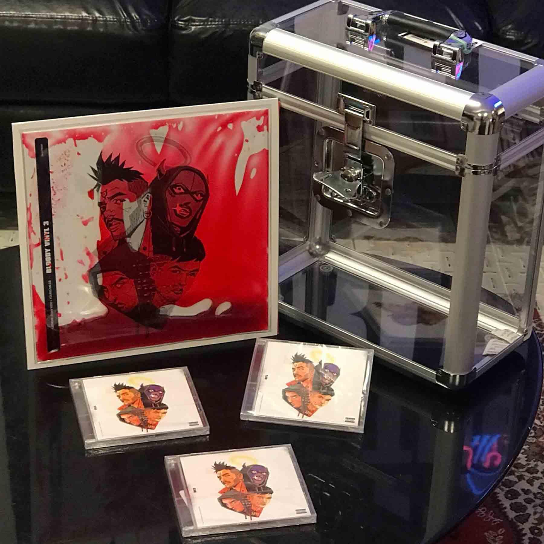 Semm Music Store Bloody Vinyl