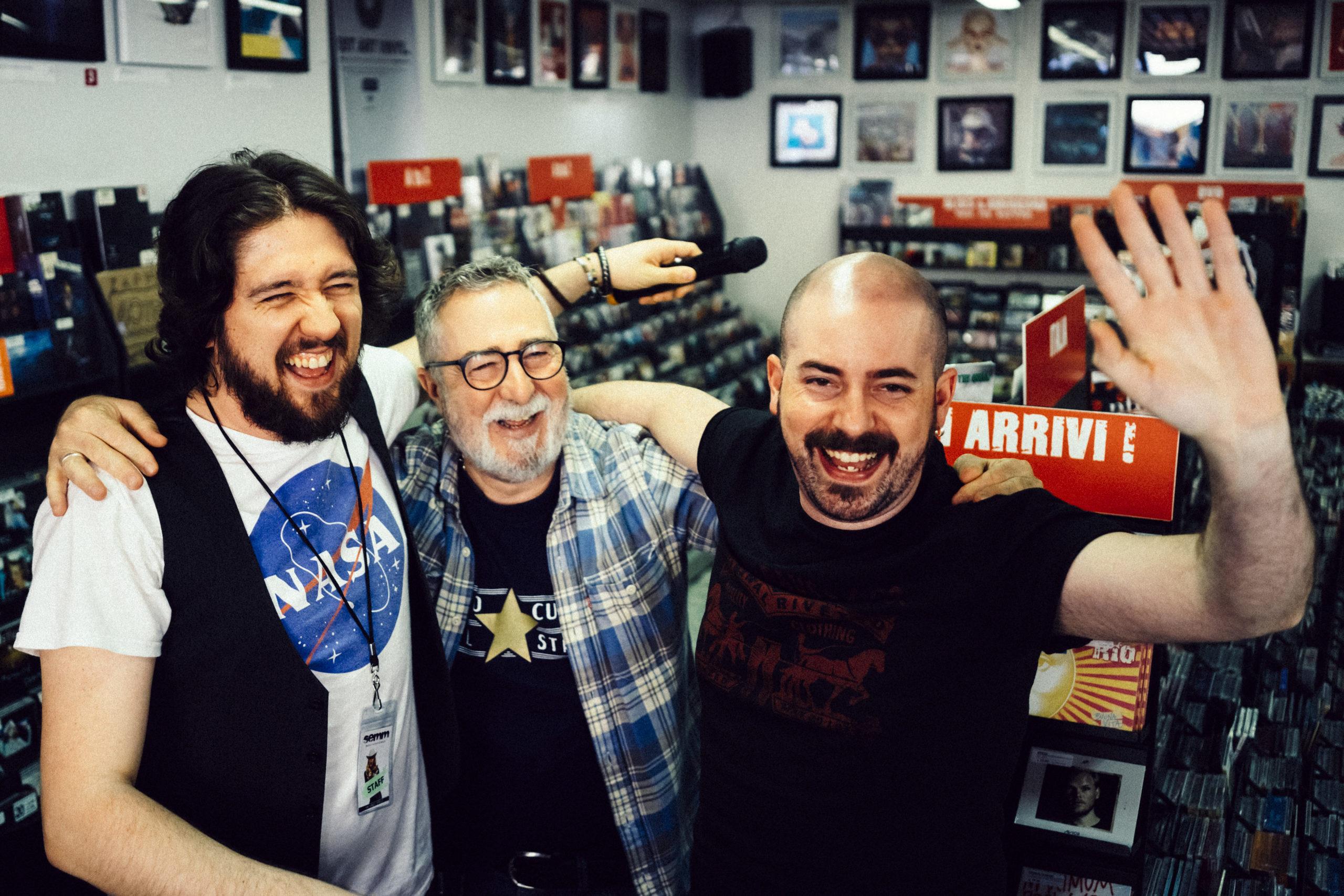Semm Music Store Staff Riccardo Marco Carlo