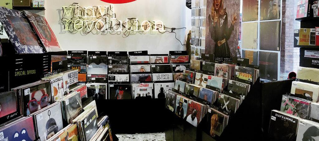 Semm Music Store Vinly Revolution