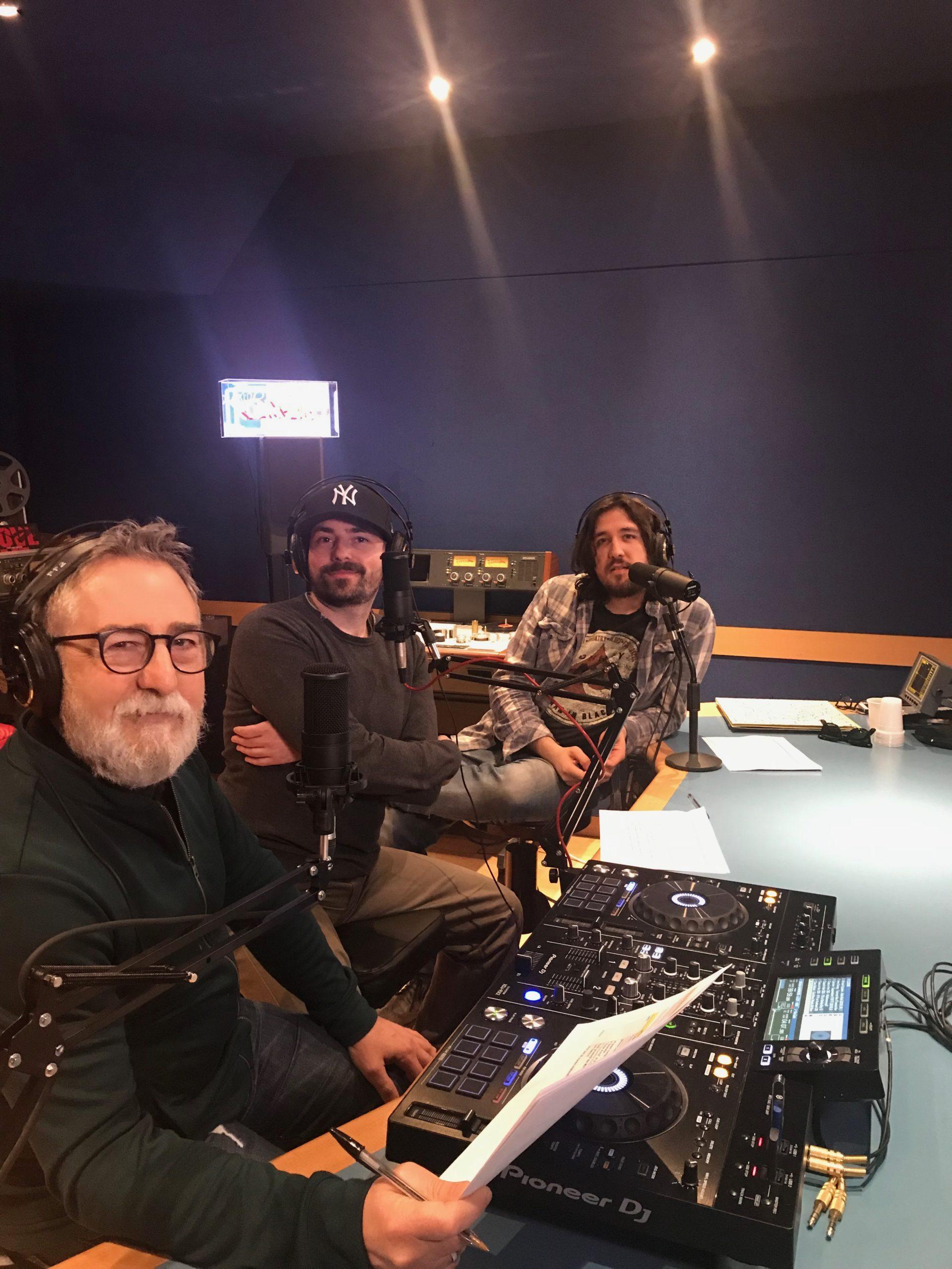 Semm store staff Marco Carlo Riccardo in radio