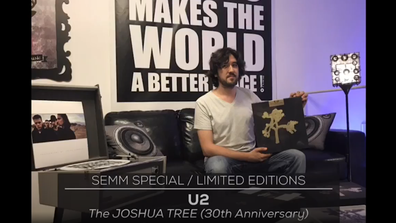 Semm Special Limited Editions The Joshua Tree 30th Anniversary