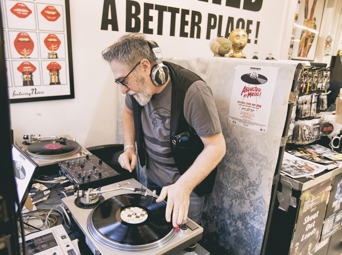 Semm Music Store Staff Marco