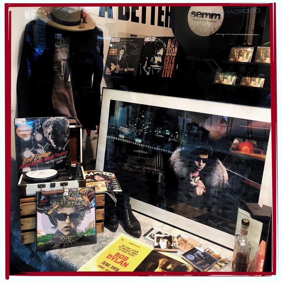 Semm Music Store Boby Dylan