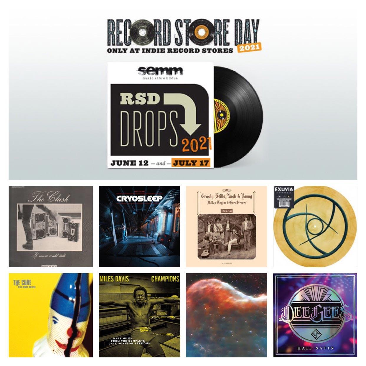 Semm Music Store Record Store Day Novità Luglio