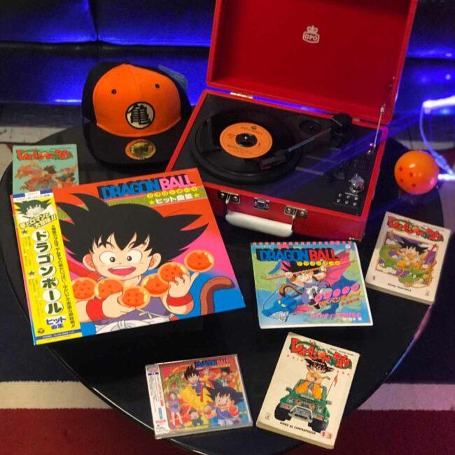 Dragon Ball edizione giapponese colonna sonora in formato cd - vinile 33-45 giri