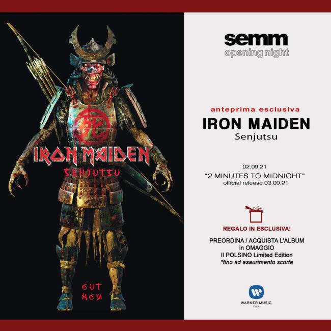 """Iron Maiden """" Senjutsu""""- Nuova uscita cd e vinile varie edizioni - Anteprima Esclusiva"""