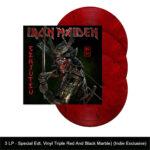 Iron-Maiden-Senjutsu-Semm-music-store-gadget-3lp-colorato.rosso