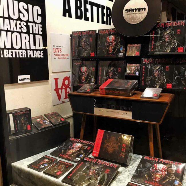 Semm Music Store Iron Maiden